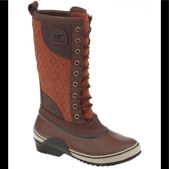 Sorel Bombay Brown Tall Boot